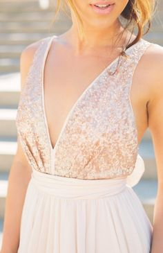 43 Striking Sequin Bridesmaids' Dresses | https://HappyWedd.com bridesmaid dress, bridesmaid dresses