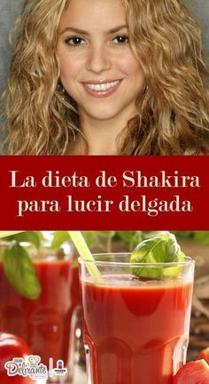 la dieta de shakira | CocinaDelirante Shakira, Health Diet, Health Fitness, Healthy Life, Healthy Eating, Diet Recipes, Healthy Recipes, Workout Bauch, Diets For Beginners