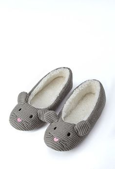 Mouse Slippers | Forever 21 - 2000158023