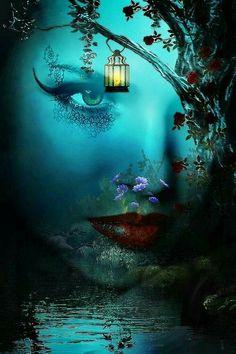 through the mystic. so dark and mystic Fantasy Kunst, Fantasy Art, Sacred Spirit, Fairy Art, Fantasy World, Fantasy Life, Mythical Creatures, Belle Photo, Amazing Art