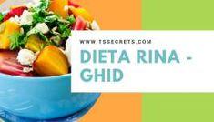 Dieta Rina Meniu zilnic - Ziua de Vitamine - T's Secrets Nutrition Classes, Nutrition Program, Rina Diet, Complete Nutrition, Le Diner, Bone Health, Health Goals, Calories, Food Preparation