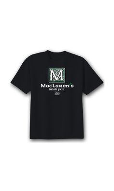 9.88$ - How I Met Your Mother Unisex MacLarens Irish Pub T-shirt Black Large from CBS Store- Join the gang with your own How I Met Your Mother  MacLaren s Irish Pub  T-Shirt. Fits great. Feels great. Put on your How I Met Your Mother  MacLaren s Irish Pub  T-Shirt and it ll be legend--wait for it--DARY!  #shirt #garment #sleeve #clothing #person #jersey #people #adult #portrait #consumer goods #covering #front #smiling #man #caucasian #happy (click on picture to read more...)