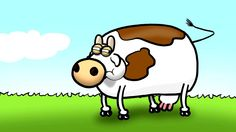 Cow go MOO? A World of Cow animation.