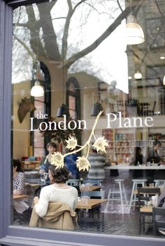 The London Plane // coffee and a handmade croissant.