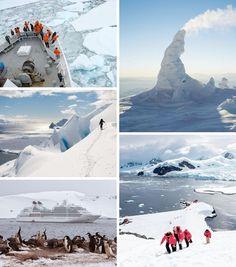 Cruceros antárticos: Un destino exótico y muy diferente