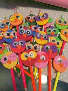 Gardening for Kids Kids Crafts, Foam Crafts, Preschool Crafts, Diy And Crafts, Arts And Crafts, Paper Crafts, Pencil Topper Crafts, Pencil Toppers, Art N Craft