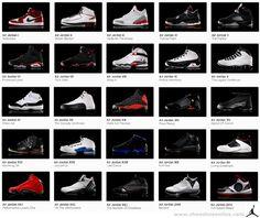 jordan shoes all