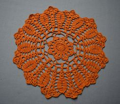 Table decoration lace doilie table decoration crocheted