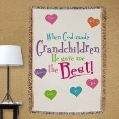 Personalized God Gave Me The Best Inspirational Tapestry Throw Blanket
