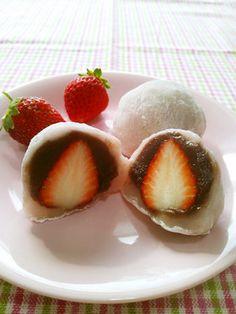 熱さとはサヨナラ♪簡単いちご大福 by ねっちゃんっ [クックパッド] 簡単おいしいみんなのレシピが258万品