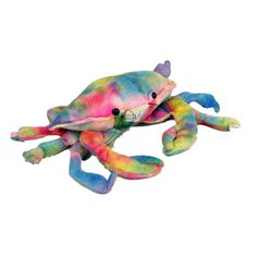 Title: Rainbow Crab Plush Toy Size: Measures 9 inch / 23cm  Price: AUS$ 15.95 Brand : Souvenirs Of Australia  Lots more items like this available at: www.stuffedwithplushtoys.com 100 Day Returns |Fast Trackable Shipping|Google Trusted Store