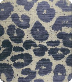 Leopard print in shades of blues _online fabric, lewis and sheron, lsfabrics