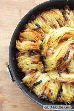 Ciloubidouille » Pommes de terre au four croustillantes