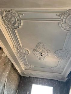 Roof Ceiling, Plafond Design, Bedroom Ceiling, Ceiling Ideas, Store Design, Ceilings, Wrought Iron, Boutique, Pop