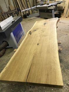 Wir haben wieder neue Tischplatten in der Fertigung eine aus deutscher Eiche is einer Scheibe die...,Tischplatte / Schreibtisch / Eckbank / Esstisch / baumscheibe in Berlin - Schöneberg