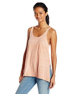 Volcom Junior's Stripe Tees Tank #deals