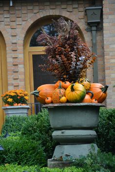 fall containers | Dirt Simple