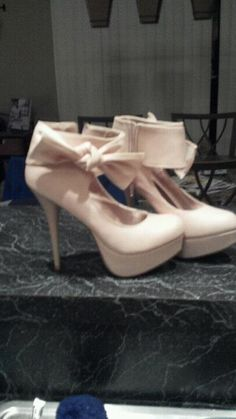 Pink with ankle bows from Charlotte Rousse