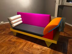 Peter Shire, Group Art, Sofa, Couch, Kelly Wearstler, Postmodernism, Memphis, Love Seat, Interior Design