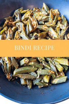 Delicious spiced bindi/okra. Bindi cooked in onions and tomatoes with turmeric, chili and coriander powder. Soft and tender bindi perfectly spiced. A great side dish with rice or roti's. Easy Delicious Recipes, Vegetarian Recipes Easy, Curry Recipes, Lunch Recipes, Easy Dinner Recipes, Delicious Food, Easy Meals, Cooking Recipes, Tasty
