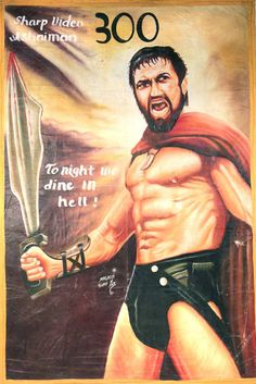 These movie posters were all created by artists in Ghana to promote traveling movie shows and sell tickets to bootleg screenings of various western and local movies. They range from quirky recreati...