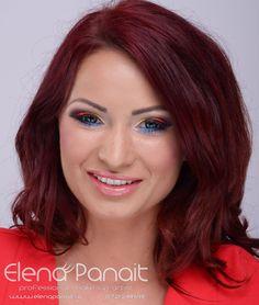 #machiaj #makeup cocktail multicolor, ochi accentuati, ruj natural