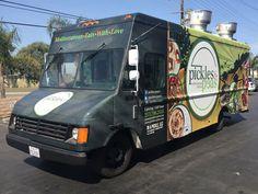 Pickles & Peas is a Mediterranean Food Truck Concept. Custom Food Trucks, Mediterranean Recipes, Pickles, Concept, Ideas, Pickle, Pickling, Thoughts
