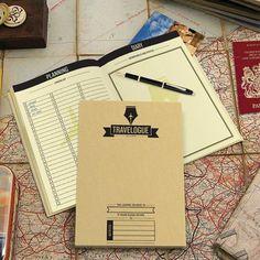 TRAVELOGUE Reisetagebuch von Luckies - ars habitandi. Der DesignVersand - Geschenkideen und ausgefallene Geschenke.