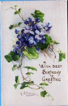 silk catherine klein postcard