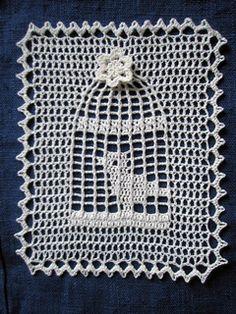 Ravelry: Bird cage doily pattern by Chinami Horiba