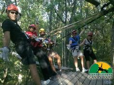 Things to do in Lake Geneva, WI - Lake Geneva Canopy Tours   I've been to the Lake Geneva Canopy Tours a few times (ok, many times!) and it never ceases to amaze me how exhilarating the experience is!