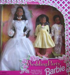 Barbie Wedding Party Deluxe Gift Set Special Edition w Barbie AA, Stacie AA & Todd AA Dolls (1994) Mattel http://www.amazon.com/dp/B001ERBS4K/ref=cm_sw_r_pi_dp_zZ-jwb1GJGZS3