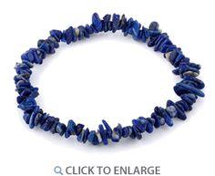 Chips Lapis Elastic Bracelet *  $2.28
