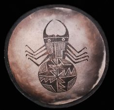 Mimbres Beetle Bowl