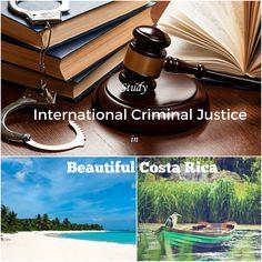 Criminal Justice study instruction