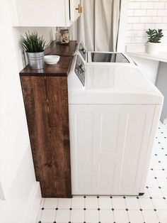 """Receive fantastic pointers on """"laundry room storage diy budget"""". They are actually on call for you on our site. You are in the right place about DIY Laundry drying rack Here we offer you the most beau Laundry Room Remodel, Basement Laundry, Farmhouse Laundry Room, Small Laundry Rooms, Laundry Room Organization, Laundry Room Design, Organization Ideas, Storage Ideas, Laundry Closet"""