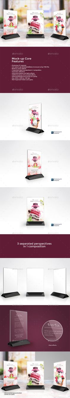 Hotel Table Tent Template Vol2 Table tents, Print templates and - table tent template