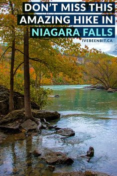 Looking to hike in Ontario, Canada on a trail that offers amazing views, stellar fall foliage & a lot less people? Do some Niagara Falls hiking at the Niagara Glen Nature Reserve! Hamilton, Places To Travel, Places To Visit, Travel Destinations, New Orleans, Ontario Travel, Ontario Camping, Canadian Travel, Canadian Rockies