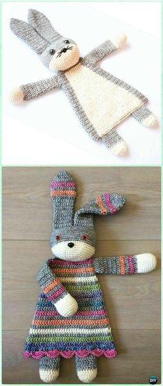 Crochet Darling Bunny Ragdoll Pattern - Crochet Baby Easter Gifts Patterns