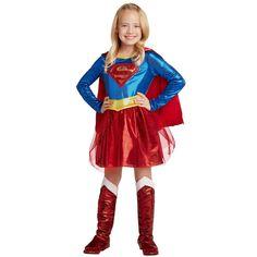 Supergirl Halloween Costume, Superman Costumes, Mother Daughter Halloween Costumes, Halloween Costumes For Girls, Halloween Kids, Cute Costumes, Girl Costumes, Harley Quinn Halloween, Supergirl Superman