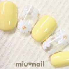 Yellow white floral