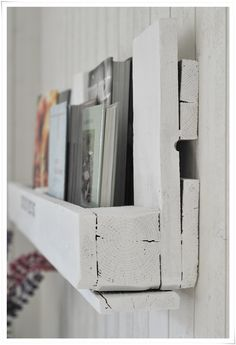 Estante para libros de bricolaje para libros de cocina | tvåsmåhus | inspiración de IKEA