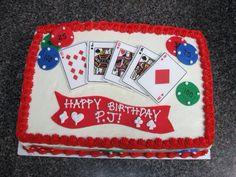 Vegas Theme Cake Party Time Casino Theme 30th