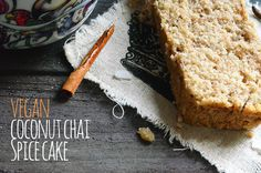 """Dairy, Egg, and Butter Free Coconut Chai Tea Spice Fall """"Yogurt"""" Cake - Vegetarian Snob one of my fall favorites"""