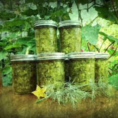 Made dill relish today!