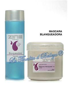 Mascara Blanqueadora Zine : Polvo   Liquido - $ 120,00