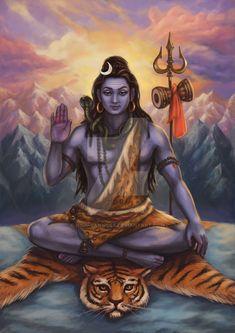 Shiva Shankar Mahadeva by Nila-Vanwolf on DeviantArt