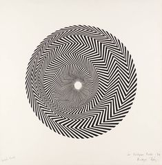 When English painter Bridget Riley, one of the foremost exponents of Op Art and geometric abstraction, first began to paint the black and white works. Wassily Kandinsky, Bridget Riley Op Art, Women Artist, Art History Timeline, Timeline Images, Overlays, Tate Gallery, Western Art, Optical Illusions