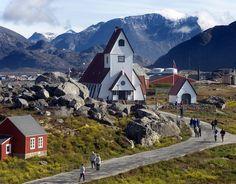 Nanortalik Kirke by ilovegreenland, via Flickr