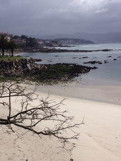 Playa de la Panadeira en Sanxenxo